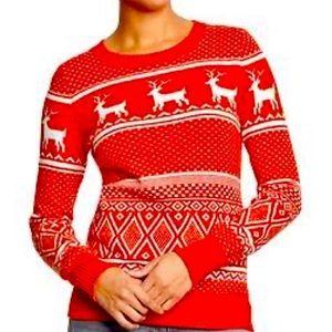 Christmas XMAS Plus Size Fair Isle Sweater XXL